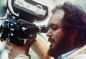 Stanley Kubrick self operating on set